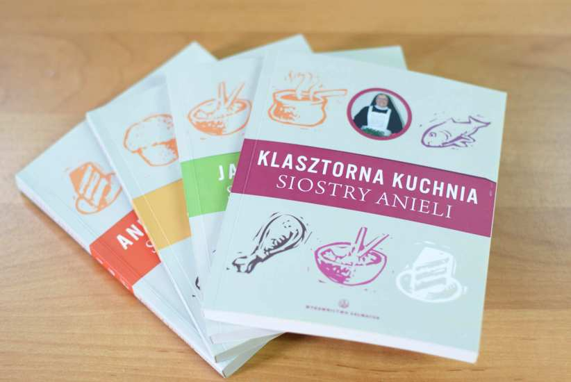 Kuchnia Siostry Anieli Komplet Książki Religijne